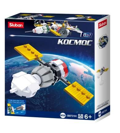 Конструктор Sluban Космос космический корабль, 58 деталей