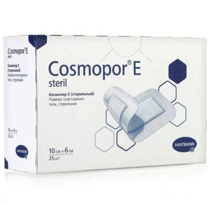 Повязка Cosmopor E 10х6см самоклеящаяся, упаковка 25 шт.