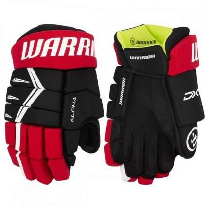 Перчатки хоккейные Warrior Alpha DX5, 12, черный