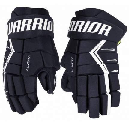 Перчатки хоккейные Warrior Alpha DX5, 13, темно-синий