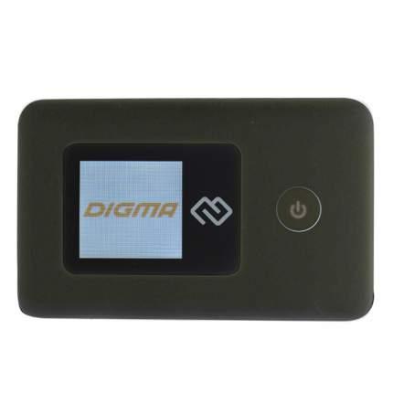 Мобильный роутер DIGMA Mobile Wifi Black