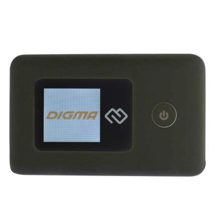 Устройство для мобильного интернета Digma Mobile Wifi USB Wi-Fi Firewall +Router черный