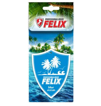 Ароматизатор бумажный Felix прохлада лазурного океана 411040029