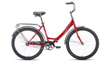 """Велосипед Forward Sevilla 26 1.0 2020 18.5"""" красный/белый"""