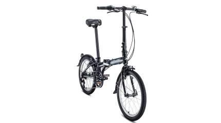 """Велосипед Forward Enigma 20 2.0 2020 11"""" черный/белый"""