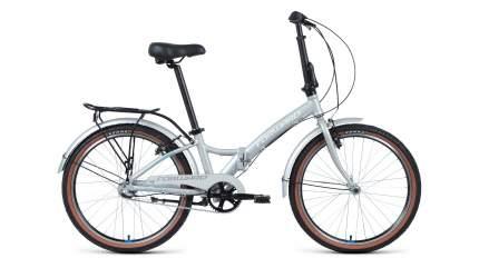 "Велосипед Forward Enigma 24 3.0 2020 14"" хром/белый"