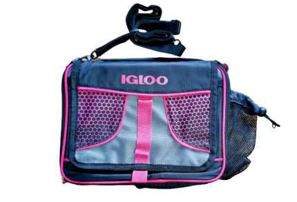Термосумка IGLOO 6л цвет- Синий, Розовый