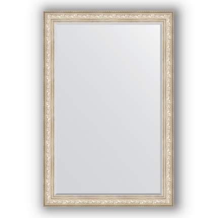 Зеркало Evoform BY 3634 с фацетом в багетной раме виньетка серебро 109 мм, 120х180 см