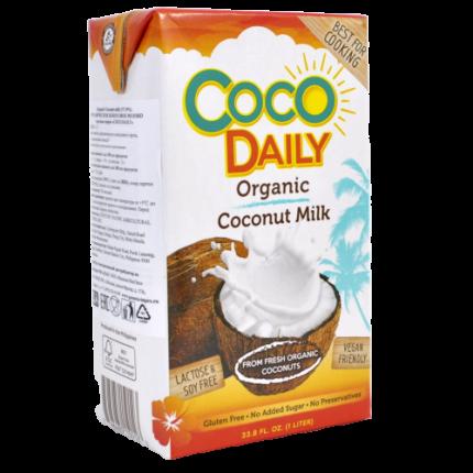 Молоко кокосовое Coco Daily органическое жирность 17-19% 1 л