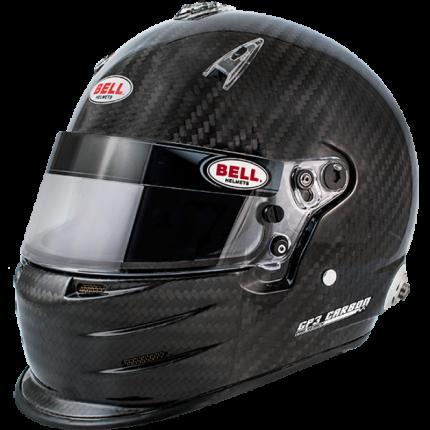 Шлем для автоспорта Bell 1206017  GP3 CARBON HANS FIA8859-2015 карбон р 61