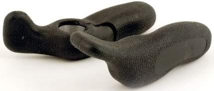 Рога на руль велосипеда алюминиевые-резина короткие AUTHOR