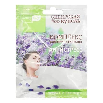 Комплекс для принятия ванны NaturaЛист Сибирская Купель Антистресс 75 мл