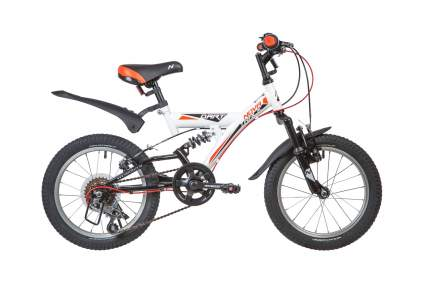 Велосипед NOVATRACK 16 DART 5.V, белый