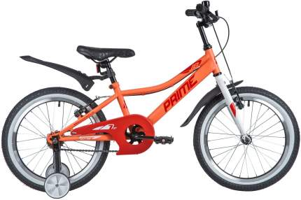 """Велосипед NOVATRACK 18"""" PRIME SGV сталь, терракот, тормоза V-brake, короткие крылья"""