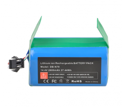 Аккумулятор 2600mAh 14,4 В для Ecovacs Deebot, Eufy Robovac