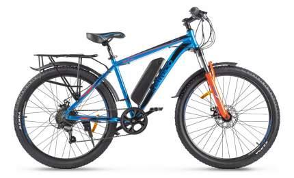 "Электровелосипед Eltreco XT 800 New 2021 19"" dodgerblue/orangered"