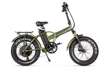 Электровелосипед Eltreco Multiwatt (2021) (Army Green/Хаки)