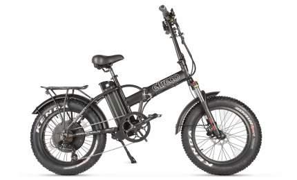 Электровелосипед Eltreco Multiwatt (2021) (черный матовый)