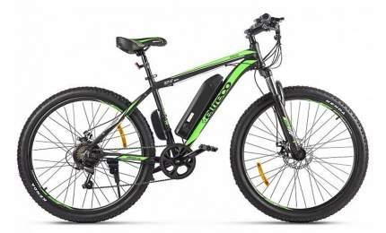 "Электровелосипед Eltreco XT 600 D 2021 19"" black/springgreen"