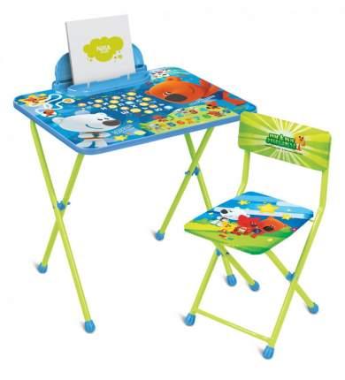 Комплект детской мебели Nika «Ми-ми-мишки» ММ1/1 Blue/Green