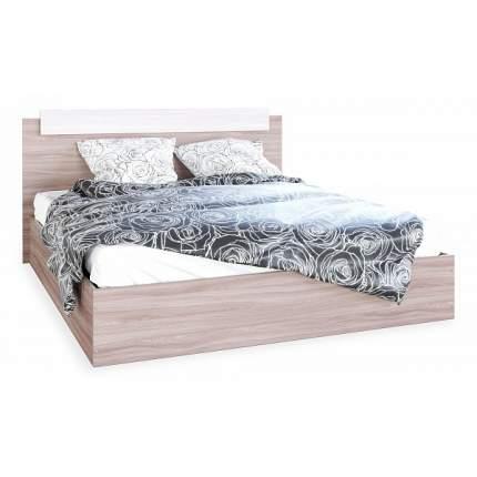 Кровать без матраса Эра Мебель ЭКО, бежевый Velutto 17/бежевый Velutto 17