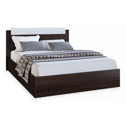 Кровать без матраса Эра Мебель ЭКО, коричневый Velutto 22/коричневый Velutto 22