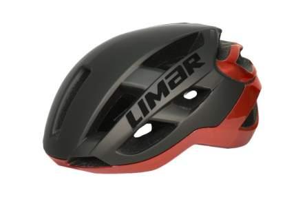 Велосипедный шлем Limar Air Star, matt black/chrome red, M
