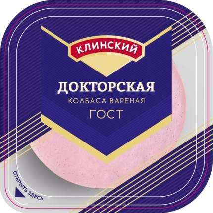 Колбаса Клинский Докторская вареная нарезка 190 г