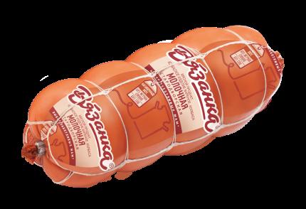 Колбаса Вязанка Молочная вареная ~1,3 кг