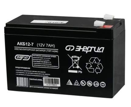 Аккумулятор для ИБП Энергия АКБ 12-7