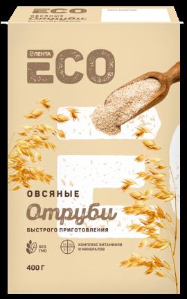 Отруби Лента ECO овсяные быстрого приготовления 400 г