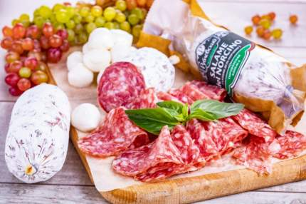 Колбаса Рублевский Салями дель Норчино сыровяленая 170 г
