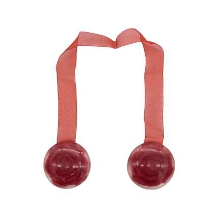 Клипса-магнит W04 для штор 1 бордо