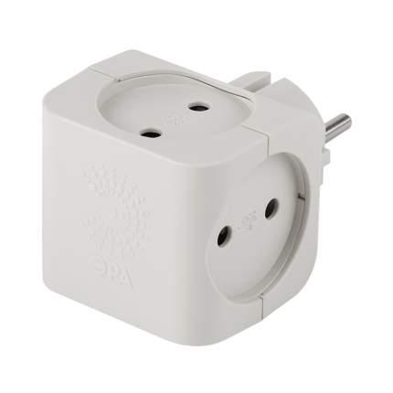 Разветвитель ЭРА SP-4-W White, 4 розетки