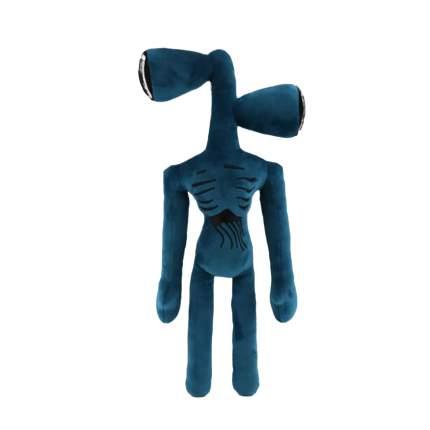 Мягкая игрушка монстр Siren Head сиренеголовый синий длинноногий, 35 см