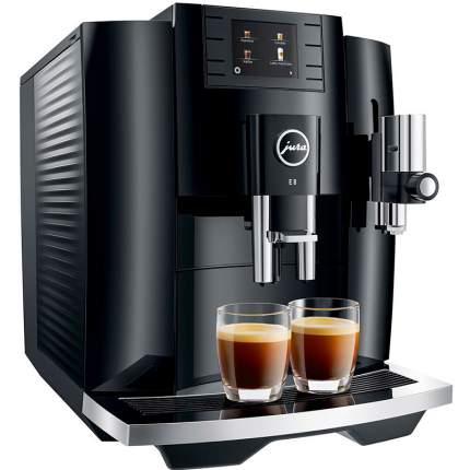 Кофемашина автоматическая Jura E8 Piano Black
