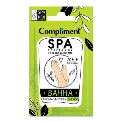 Саше-ванна для ног Compliment ароматическая 7 мл