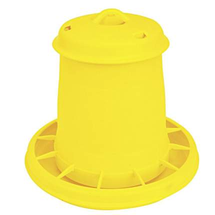 Кормушка бункерная для цыплят Novital 2070AF000 1.5 кг, пластик, с разделительной решеткой
