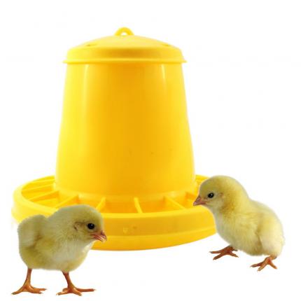Кормушка бункерная для цыплят Novital 2071AF000 3.5 кг, пластик, с разделительной решеткой