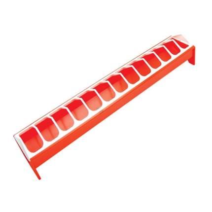 Кормушка-поилка лотковая для кур Novital 75 см пластик