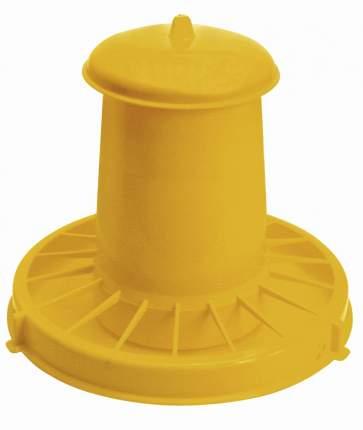 Кормушка бункерная для кур Novital 2005AF000 7 кг, пластик, с разделительной решеткой