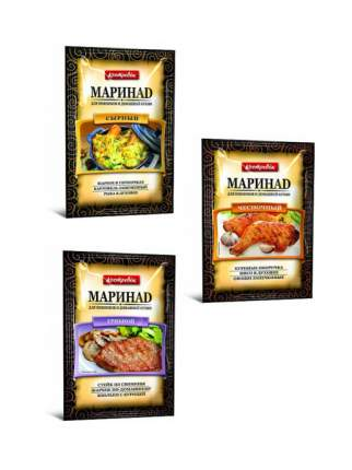 """Маринад """" Ассорти для любимых блюд"""" 3 вида (3 шт. по 80), КОСТРОВОК"""