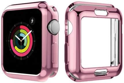 Чехол для смарт-часов Eva для Apple Watch 40mm - Розовый (AFC005P)