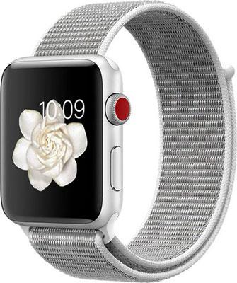 Чехол для смарт-часов Eva для Apple Watch 38/40mm Серый/Белый (AVA009WS)