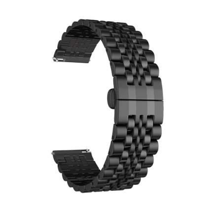 Ремешок Lyambda CASTOR из нержавеющей стали для часов 22 mm DSG-07-01T-22-BK Black