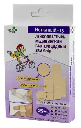 Пластырь-набор SFM Нетканый 15 шт.