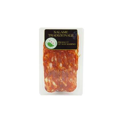 Колбаса San Marino Пиканте сыровяленая в нарезке 70 г