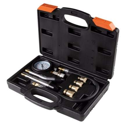 Компрессометр бензиновый, 0-20 атм, кейс, 8 предметов affix af12010008c