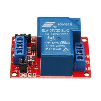 Модуль реле 5В 30А 1-канал электромеханическое с опторазвязкой