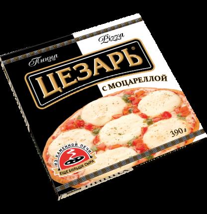 Пицца Цезарь с моцареллой замороженная 390 г